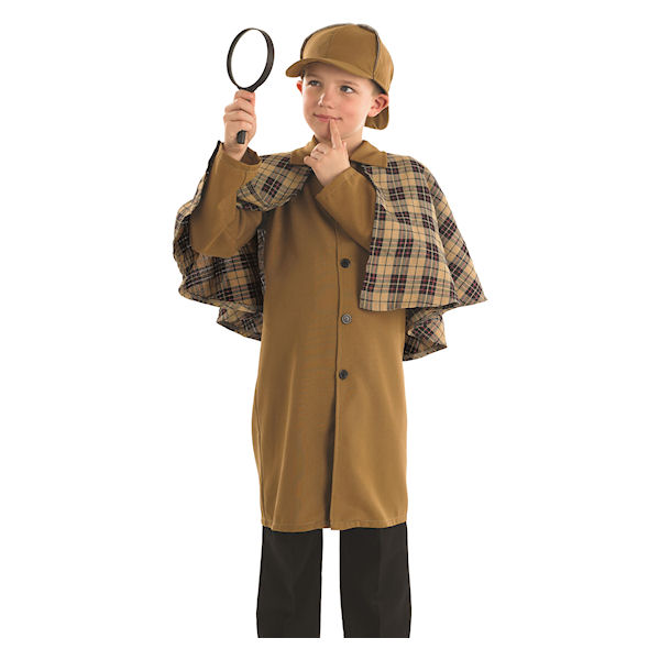 Kids Victorian Detective Childrens Dress Up Costume By Fun