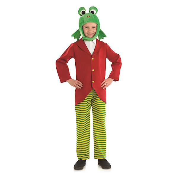 Mr frog childrens dress up costume by fun shack