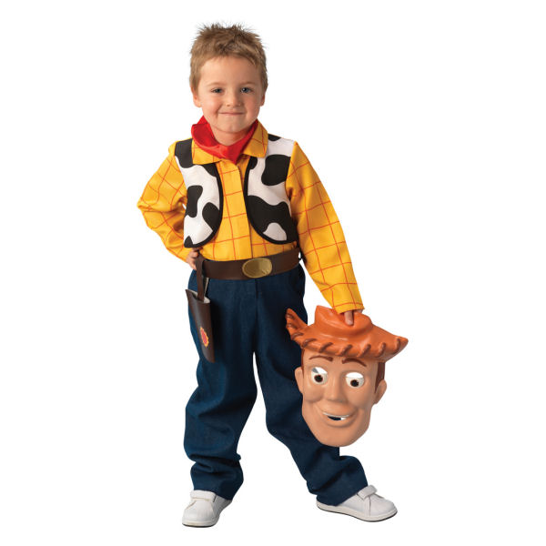 Disney Cindy Toddler Doll H15: Disney Woody Deluxe Small Sized Child Costume By Rubies
