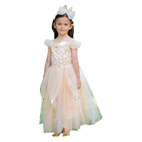 Golden Princess Dress With Headband by Travis Dress Up By Design