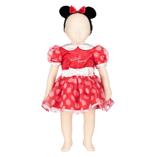 fb7eba09c 3-6 months Minnie Mouse Red Dress By Disney Baby 5014568551329 | eBay