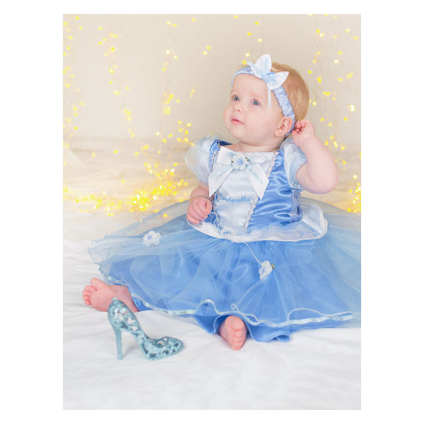 New Nip Disney Baby Girls Halloween Cinderella Costume 6: Disney Princess Cinderella Costume Dress By Disney Baby