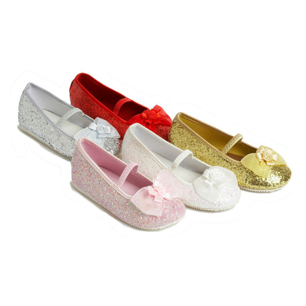 EU 25-26 Pink Childrens Party Or Costume Shoes by Travis Dress Up By Design
