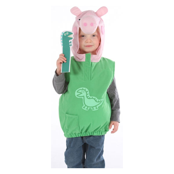 Peppa Pig George Dino Costume For Ages 2 4 Years By Vmc