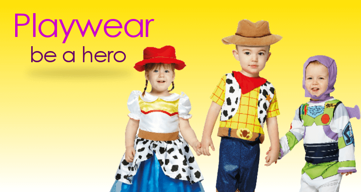 Childrens fancy dress and baby costumes